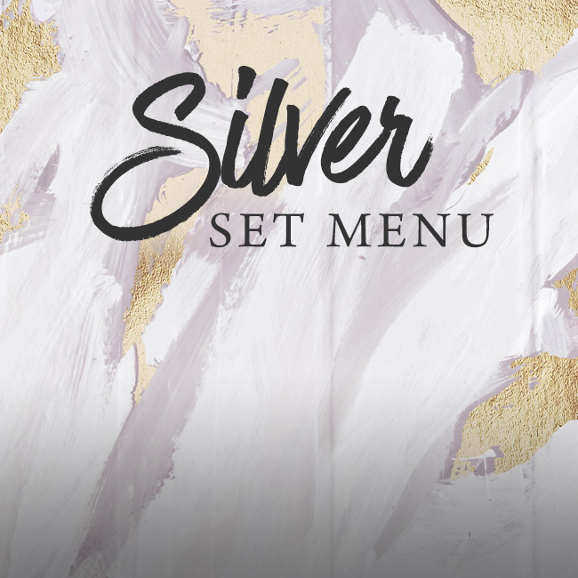 Silver set menu at The Red Lion