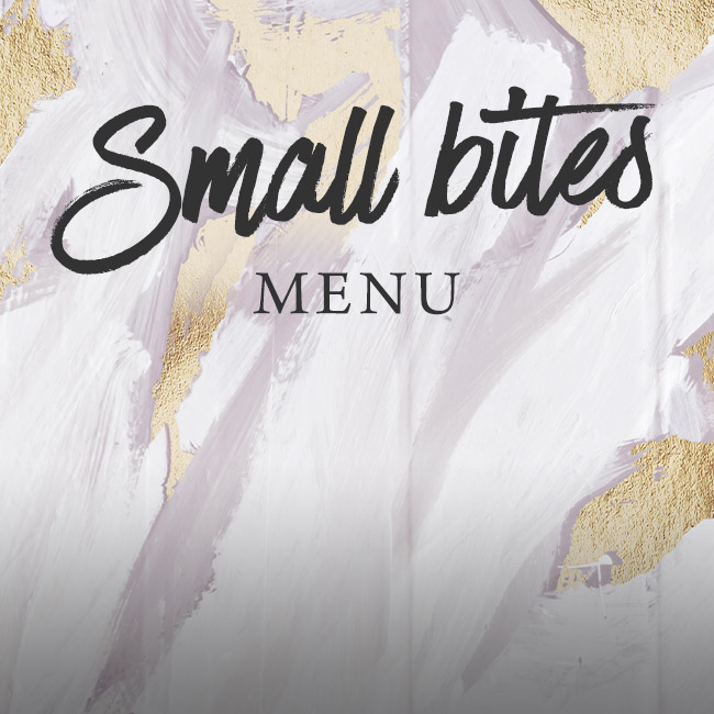 Small Bites menu at The Red Lion