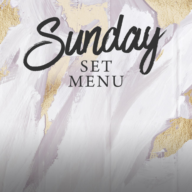 Sunday set menu at The Red Lion